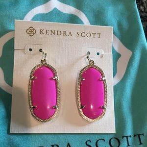 Kendra Scott Magenta Elle Earrings